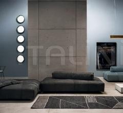 Итальянские ковры - Ковер BERBERE DARK GREY + NATURAL | PATTERN A фабрика Baxter