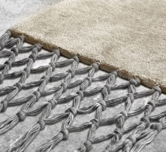 Итальянские ковры - Ковер FRINGES PEARL + GREY фабрика Baxter