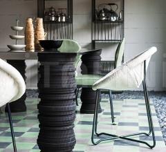 Итальянские столы обеденные - Стол обеденный BIDU фабрика Baxter