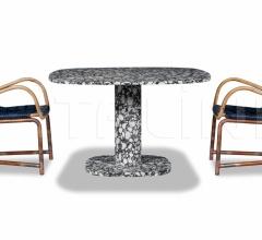 Итальянские столы обеденные - Стол обеденный MATERA фабрика Baxter