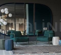 Итальянские настенные зеркала - Настенное зеркало TORINO фабрика Baxter