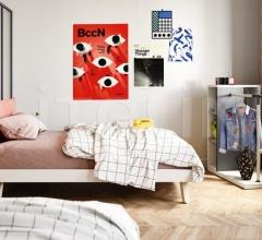 Кровать PILLOW bed фабрика Nidi