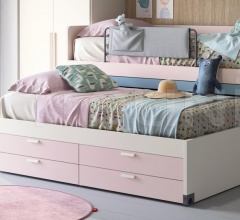 Кровать Equipped platform bed фабрика Nidi
