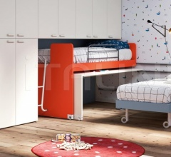 Кровать SCROLL Sliding beds фабрика Nidi
