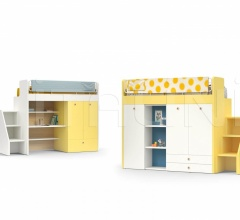 Кровать ERGO bunk bed фабрика Nidi