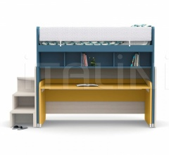 Кровать SLOT sliding bunk bed фабрика Nidi