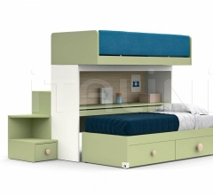 Кровать SKID sliding bunk beds фабрика Nidi