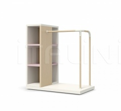 Итальянские стеллажи и полки - Книжный стеллаж LOOP SYSTEM with bookcase фабрика Nidi