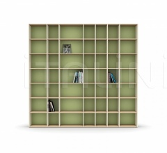 Итальянские стеллажи и полки - Книжный стеллаж LUCE bookcase фабрика Nidi