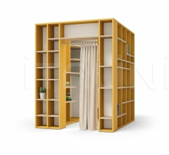 Итальянские стеллажи и полки - Книжный стеллаж HOLLY bookcase фабрика Nidi