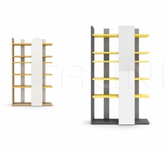 Итальянские стеллажи и полки - Книжный стеллаж SURFY bookcase фабрика Nidi