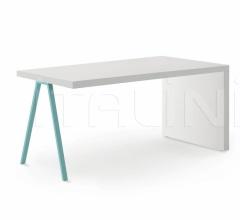 Итальянские письменные столы - Письменный стол Desk with side panels фабрика Nidi