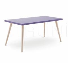 Итальянские письменные столы - Письменный стол Desk with Woody legs фабрика Nidi