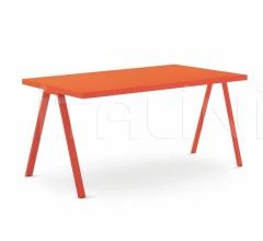 Итальянские письменные столы - Письменный стол Desk with Ask legs фабрика Nidi