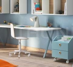 Итальянские письменные столы - Письменный стол Desk with Clessidra legs фабрика Nidi