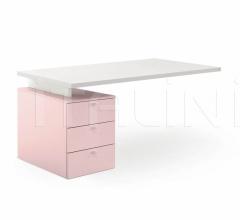 Итальянские письменные столы - Письменный стол Desk with drawer unit фабрика Nidi