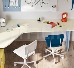 Итальянские письменные столы - Письменный стол Shaped desk фабрика Nidi