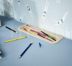 Итальянские письменные столы - Письменный стол Pool Pen Holder фабрика Nidi