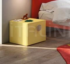 Итальянские тумбочки - Тумбочка BASE bedside table фабрика Nidi