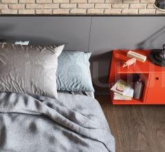Итальянские тумбочки - Тумбочка LUCE bedside table фабрика Nidi