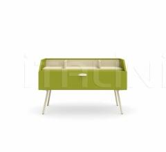 Итальянские тумбочки - Тумбочка Wilson bedside table фабрика Nidi