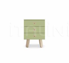 Итальянские тумбочки - Тумбочка Lolly bedside table фабрика Nidi