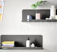 Итальянские стеллажи и полки - Полка HOOK shelf фабрика Nidi