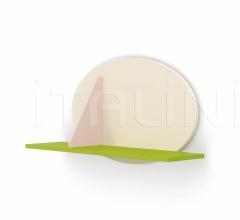 Итальянские стеллажи и полки - Полка LIPPY wall unit фабрика Nidi
