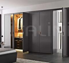 Итальянские шкафы гардеробные - Гардероб Backstage фабрика B&B Italia