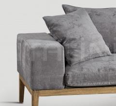 Трехместный диван DB004722 фабрика Dialma Brown