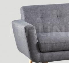 Трехместный диван DB004537 фабрика Dialma Brown