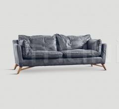 Трехместный диван DB003973 фабрика Dialma Brown