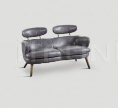 Двухместный диван DB003972 фабрика Dialma Brown
