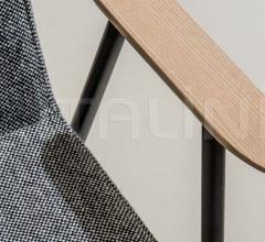 Стул с подлокотником OSAKA Metal 5725 фабрика Pedrali