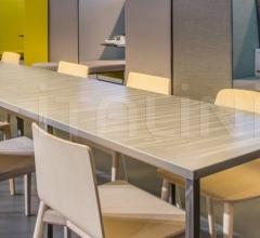 Стол обеденный FABBRICO TFA фабрика Pedrali