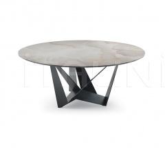 Стол обеденный Skorpio Keramik Round фабрика Cattelan Italia