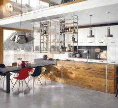 Итальянские кухни с островом - Кухня Brera 76 фабрика Marchi Group