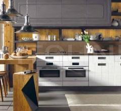 Итальянские кухни с островом - Кухня Lab 40 фабрика Marchi Group