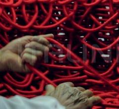 Кресло Vermelha фабрика Edra
