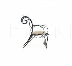 Кресло ram armchair фабрика Ceccotti Collezioni