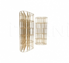 Стеллаж golden cage фабрика Ceccotti Collezioni