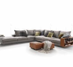 Модульный диван Lightpiece фабрика Flexform