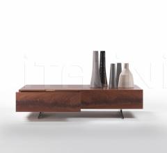 Итальянские мебель для тв - Тумба под TV Piuma фабрика Flexform