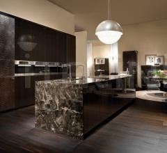 Итальянские кухни с островом - Кухня Villa Livia 2 фабрика Fendi Casa