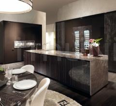 Итальянские кухни с островом - Кухня Villa Livia 3 фабрика Fendi Casa