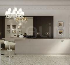 Итальянские кухни с островом - Кухня Villa Livia 4 фабрика Fendi Casa