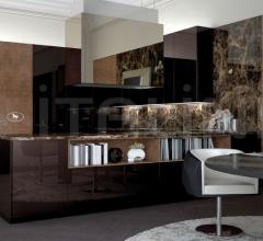 Итальянские угловые кухни - Кухня Villa Ada 4 фабрика Fendi Casa