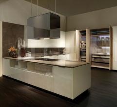 Итальянские угловые кухни - Кухня Villa Ada 5 фабрика Fendi Casa