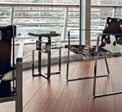 Стул с подлокотниками Blixen Lounge фабрика Fendi Casa