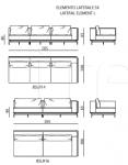 Модульный диван Backstage IPE Cavalli (Visionnaire)